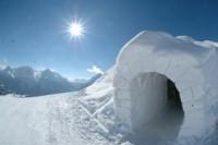 Pogostite.ru - Россия: Первый российский снеготель появился на Камчатке