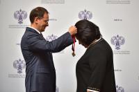 Pogostite.ru - Надежде Бабкиной вручили орден «За заслуги перед Отечеством»
