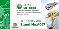 Pogostite.ru - ExpoElectronica 2019 – важное событие в мире электроники стартует 15 апреля в МВЦ «Крукус Экспо»