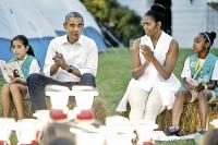 Pogostite.ru - Президент Зимбабве  предложил Обаме свою руку