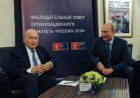 Pogostite.ru - Путин планирует обсудить с Блаттером ЧМ-2018
