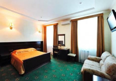 ЕВРООТЕЛЬ (г. Минеральные Воды, Иноземцево) Улучшенный двухместный с 1 кроватью или 2 отдельными кроватями