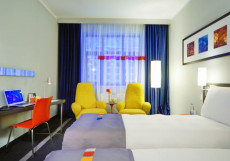 Парк Инн Рэдиссон Роза Хутор - Park Inn by Radisson Rosa Khutor Стандартный двухместный номер (кровать размера king-size, двуспальная кровать или 2 одноместные кровати)