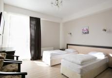 ОТКРЫТИЕ АПАРТ-ОТЕЛЬ | Красная Поляна | c кухней Стандартный двухместный номер с 2раздельными или 1 двуспальной кроватью
