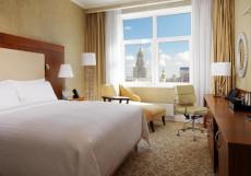 Марриотт Новый Арбат - Marriott  Hotel Novy Arbat Представительский номер Делюкс с доступом в лаундж