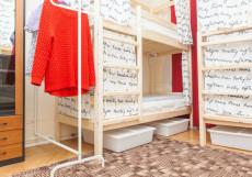 ХОСТЕЛЫ РУС - ТВЕРСКАЯ-ЯМСКАЯ (м. Белорусская, Белорусский вокзал) Кровать в общем номере для мужчин и женщин на 8 человек