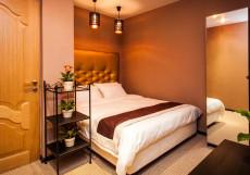 LEO HOTEL (м. Ленинский проспект, м. Шаболовская, м. Академическая) Двухместный стандартный номер с большой кроватью