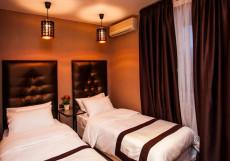 LEO HOTEL (м. Ленинский проспект, м. Шаболовская, м. Академическая) Двухместный стандартный номер с 2 раздельными кроватями