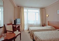 Байкал | пос. Листвянка | баня | детская площадка Двухместный Стандарт с 1 большой или 2 односпальными кроватями
