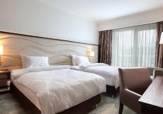ИМЕРЕТИНСКИЙ (рядом с Олимпийским парком) Стандартный двухместный номер с 2 кроватями и видом на море