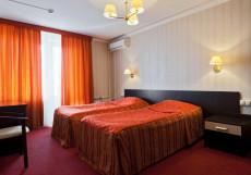 МОСКВИЧ (м. Текстильщики, Рязанский проспект) Стандартный двухместный номер с двуспальной или 2 отдельными кроватями