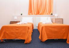 ХОСТЕЛЫ РУС КИЕВСКАЯ (м. Киевская, Деловой центр, Экспоцентр)  Двухместный номер с 2 отдельными или 1 двуспальной кроватью