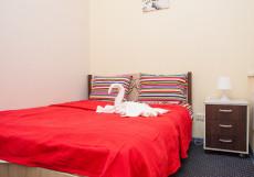 ХОСТЕЛЫ РУС КИЕВСКАЯ (м. Киевская, Деловой центр, Экспоцентр) Двухместный номер с двуспальной кроватью