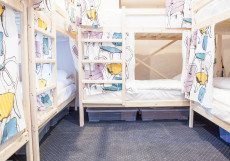ХОСТЕЛЫ РУС КИЕВСКАЯ (м. Киевская, Деловой центр, Экспоцентр) Кровать в общем 8-местном номере