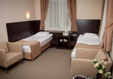 Паркофф на Парковой (м. Первомайская) Стандартный двухместный номер с 2 отдельными кроватями