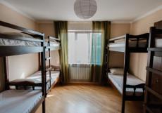 ХОСТЕЛЫ РУС - КРАСНОДАР ЦЕНТРАЛЬНЫЙ   WI FI Кровать в  женском номере с 8 кроватями и общей ванной комнатой