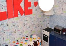 LIKE HOSTEL SURGUT (Г. СУРГУТ, ЦЕНТР ГОРОДА) Кровать в общем четырехместном номере