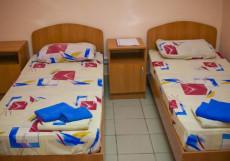 24 ЧАСА (Г. БАРНАУЛ, В 500 МЕТРАХ ОТ РЕКИ ОБЬ) Стандартный двухместный номер с 1 кроватью или 2 отдельными кроватями