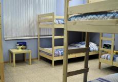 КАПУЧИНО ХОСТЕЛ (Г. БАРНАУЛ, ЦЕНТР ГОРОДА) Двухъярусная кровать в общем номере для мужчин и женщин