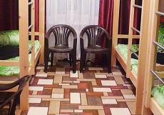 БОРНЕО HOSTEL (Г. БАРНАУЛ, ЦЕНТР ГОРОДА) Кровать в общем 6 или 8-местном номере