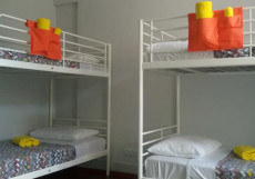 ВАГОН HOSTEL (Г. БАРНАУЛ, ЦЕНТР ГОРОДА) Кровать в общем 6-местном номере