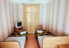 ЭЛЬБРУС (Г. СТАВРОПОЛЬ, КАЗАНСКИЙ СОБОР) Кровать в двухместном номере с 2 отдельными кроватями и собственной ванной комнатой