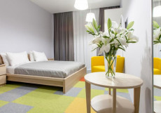 РАКУРС (Г. УЛЬЯНОВСК, ЦЕНТР ГОРОДА) Двухместный номер с 2 отдельными кроватями - Для гостей с ограниченными физическими возможностями