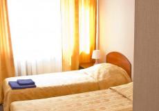 ВИКТОРИЯ (Г. УЛЬЯНОВСК, ДОМ-МУЗЕЙ ЛЕНИНА) Стандартный двухместный номер с 2 отдельными кроватями
