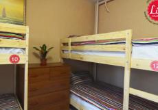 LIKE HOSTEL UL (Г. УЛЬЯНОВСК, ЦЕНТР ГОРОДА) Кровать в общем номере для мужчин и женщин с 8 кроватями