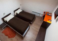 ГРАНД ВИКТОРИЯ (возле Павелецкого вокзала) Стандартный двухместный номер 20 м² (2 односпальные кровати)