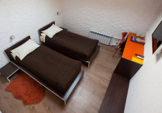 ВИКТОРИЯ (м. Павелецкая, возле Павелецкого вокзала) Стандартный двухместный номер 20 м² (2 односпальные кровати)
