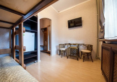 АБАГО | Адыгея, п. Гузерипль | С завтраком Стандарт (двухъярусная кровать)