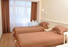 САНАТОРИЙ КАЗАХСТАН (Г. ЕССЕНТУКИ, ЦЕНТР ГОРОДА) Двухместный номер 1 категории с 2 отдельными кроватями: лечение включено