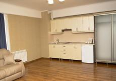 Дарья (г. Алушта, центр города) Двухместный номер с 2 отдельными кроватями и балконом