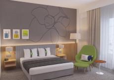 Холидей Инн Селигерская - Holiday Inn Moscow Seligerskaya (Новогодний Корпоратив) Представительский (кровать KingSize)