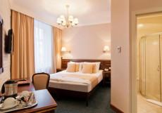 Традиция  | м. Спортивная | Wi-Fi Улучшенный двухместный номер с 1 кроватью или 2 отдельными кроватями