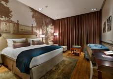 Индиго - Indigo | м. Чернышевская Улучшенный номер с кроватью размера