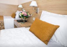 Малахит | г. Челябинск | СПА центр | сауна - баня | бассейн Стандартный двухместный номер с 2 отдельными кроватями