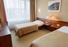 Малахит | г. Челябинск | СПА центр | сауна - баня | бассейн Двухместный номер бизнес-класса с 2 отдельными кроватями
