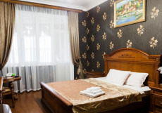Метрополь | г. Махачкала | возле моря | бассейн | сауна | парковка Улучшенный двухместный номер с 1 кроватью и балконом