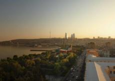 Park Inn by Radisson Azerbaijan Baku Hotel/Парк Инн Бай Радиссон (г. Баку, возле Дома Правительства) Стандартный двухместный номер с 1 кроватью и видом на море