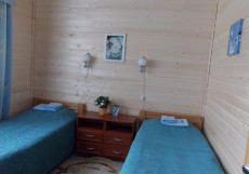РАДЖА ГОСТЕВОЙ ДОМ   г. Сортавала Двухместный (2 односпальные кровати)