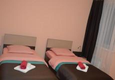 Afiny Hotel / Афины (г. Сыктывкар, возле набережной р. Сысола) Улучшенный двухместный номер с 2 отдельными кроватями