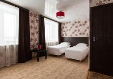 Сияние (г. Сыктывкар, возле аэропорта) Стандартный двухместный номер с 2 отдельными кроватями
