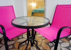 Вилла Корсика |  возле побережья Черного моря | Улучшенный двухместный номер с 1 кроватью или 2 отдельными кроватями, вид на море