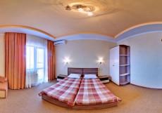 Аквилон | возле пляжа Черного моря | Двухместный номер с 2 отдельными кроватями и балконом