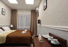 ПОБЕДА | парковка | воинская часть Двухместный номер с 2 отдельными кроватями и душем