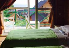 Байкал Хан Ольхон | поселок Хужир | С завтраком Двухместный номер с 2 отдельными кроватями и видом на озеро