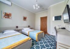 ЭКИПАЖ Двухместный номер «Улучшенный» с 2 отдельными кроватями