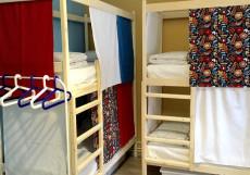 ХОСТЕЛЫ РУС - ВНУКОВО | п. Внуково Двухъярусная кровать в общем номере для мужчин и женщин с 8 кроватями